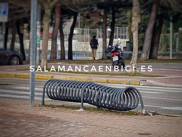 Salamanca, bici, aparcabicis