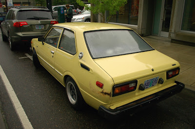 old parked cars 1979 toyota corolla 2 door. Black Bedroom Furniture Sets. Home Design Ideas