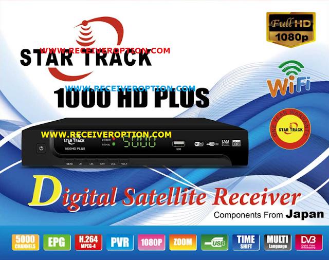 STAR TRACK 1000HD PLUS RECEIVER POWERVU KEY SOFTWARE NEW UPDATE