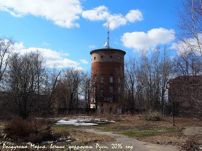 Водонапорная башня фото