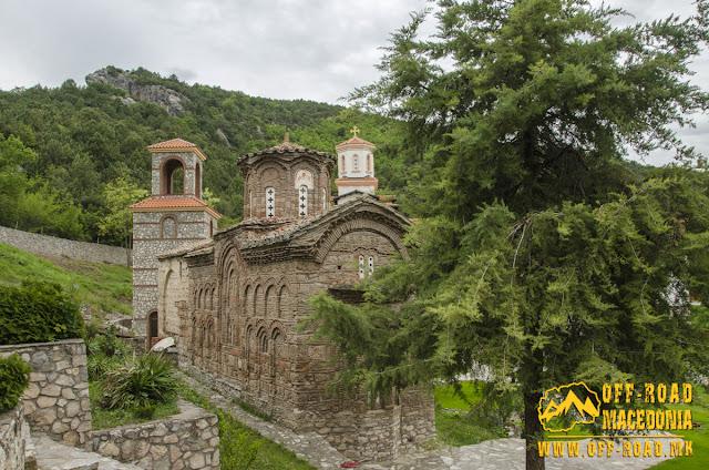 """St. George – """"Polog monastery"""" on Tikvesh Lake"""