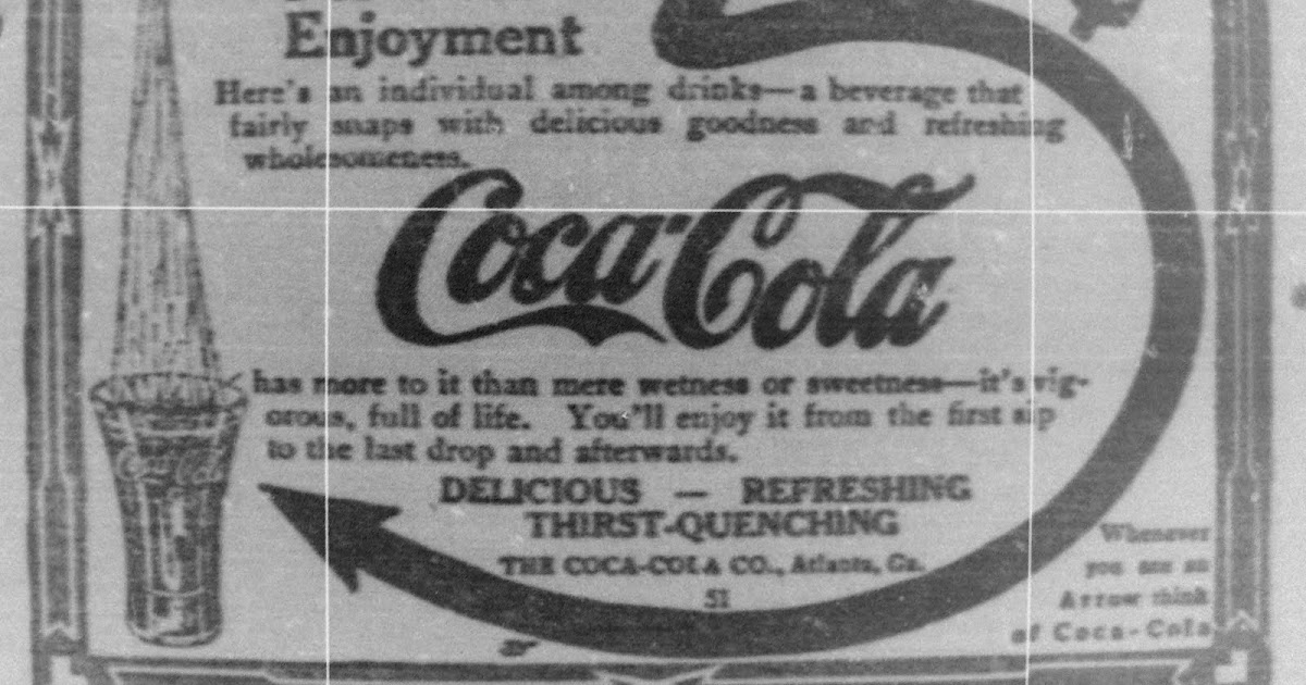 The Fowlerville Observer: 1912 Coca Cola Advertisement
