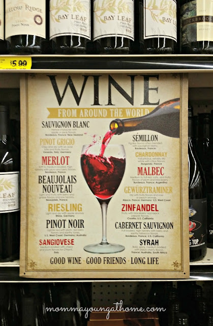 Selecting Your Wine type