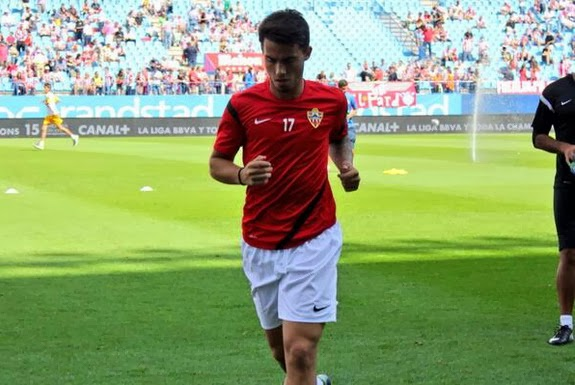 Liverpool starlet Suso has been making the most of his season-long loan spell at Almería