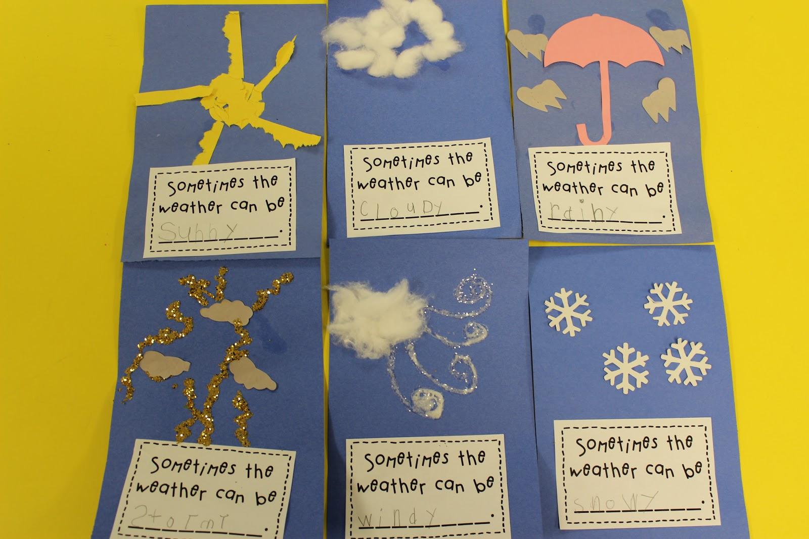 mrs lee 39 s kindergarten morning centers this week weather activities. Black Bedroom Furniture Sets. Home Design Ideas