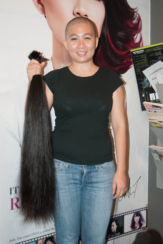 Recycle Your Hair: Christine's Donation Update