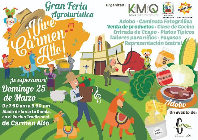 Gran Feria Agroturística, Vive Carmen Alto