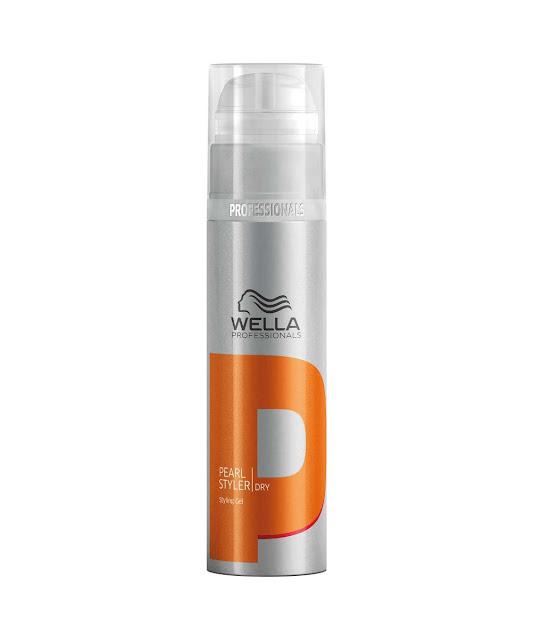 O Gel Finalizador Pearl Styler, de Wella Professionals proporciona volume e textura de brilho