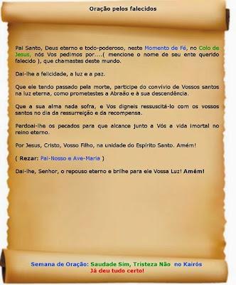 Oração Pelos Falecidos Pe Marcelo Rossi Devoção E Fé Blog Católico