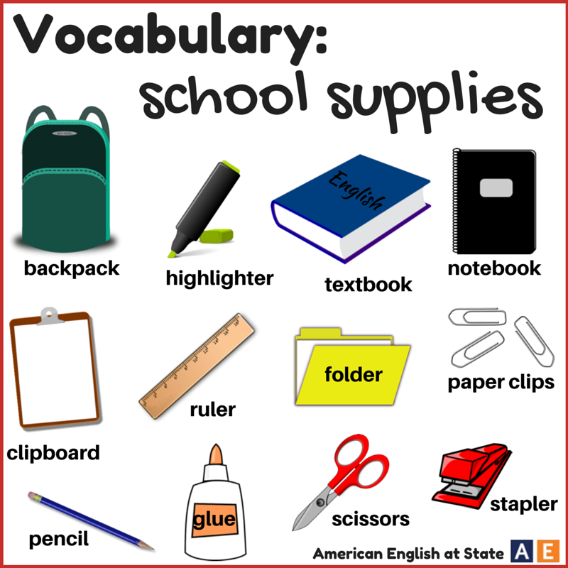 Classroom Objects Flashcards - Free Printable Flashcards ... |Esl Classroom Supplies