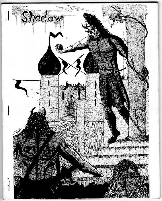 Issue 9 January/February 1970. Artwork: David A. Riley