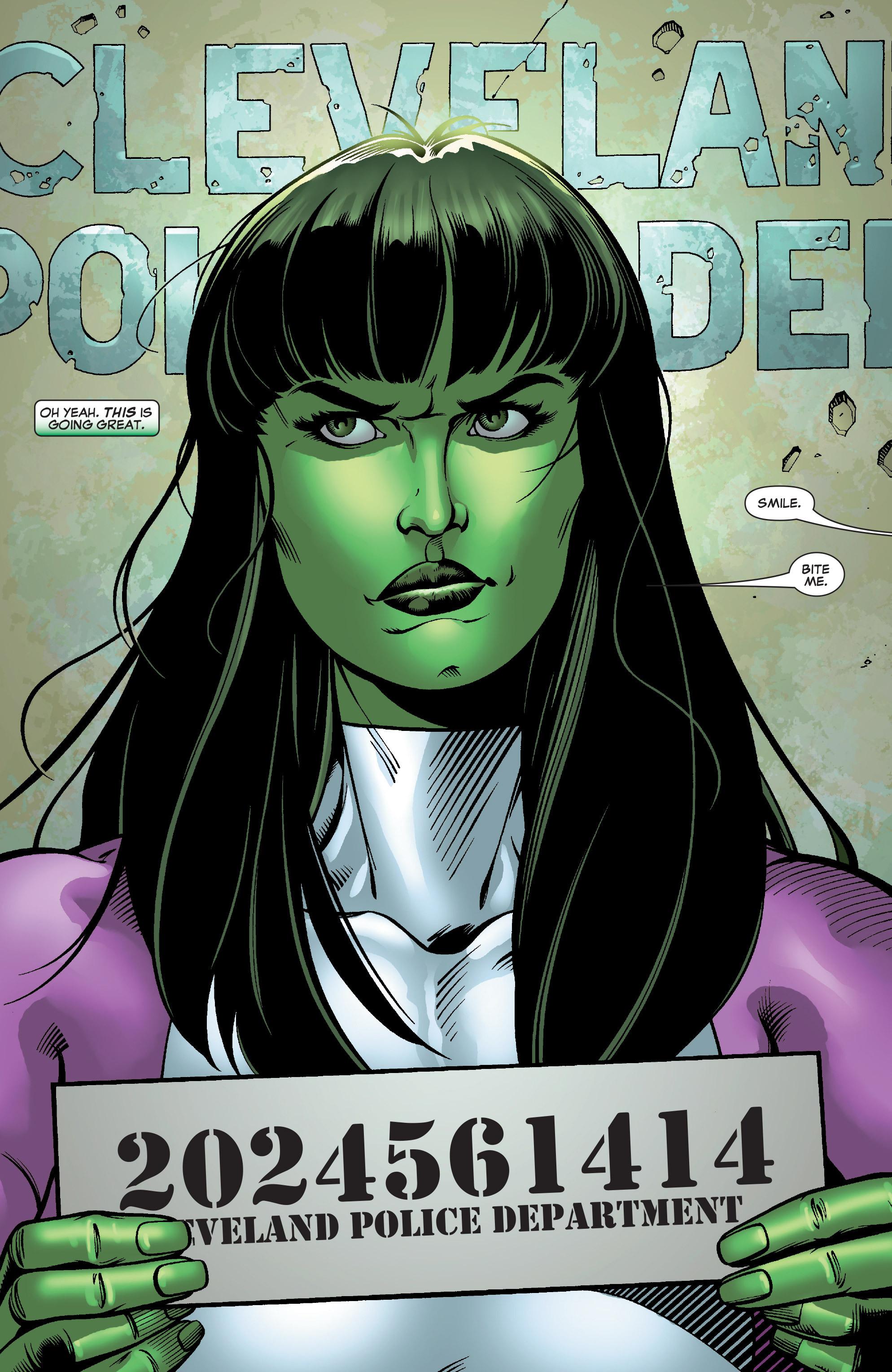 Read online She-Hulk (2005) comic -  Issue #28 - 3