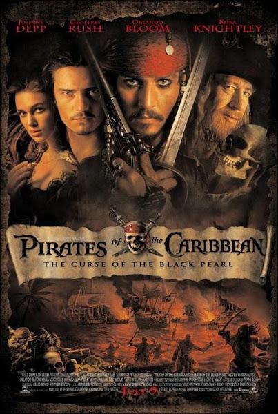 Piratas del Caribe 1, 2, 3 y 4 DVDRip Español Latino