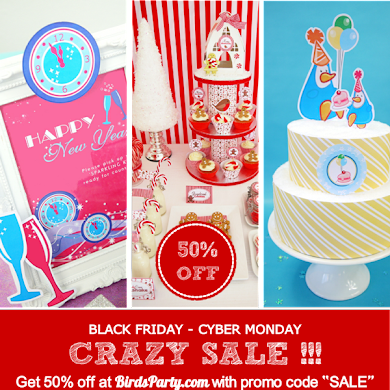 Our 2012 Black Friday & Cyber Monday Party Sale