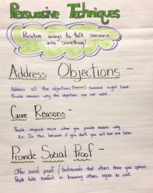 Persuasive Writing Examples Grade 3