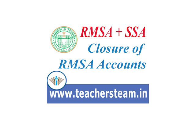 closure of RMSA Accounts