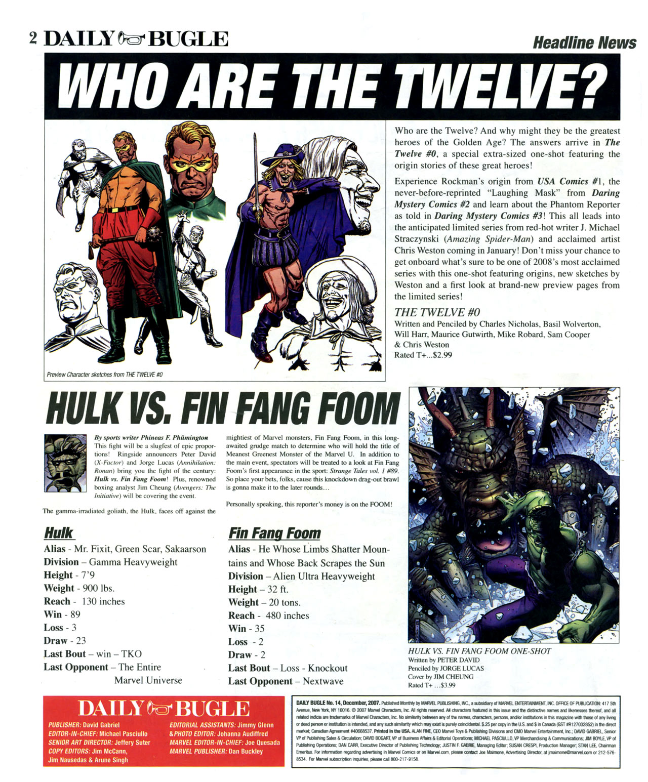 Read online Daily Bugle (2006) comic -  Issue #15 - 3