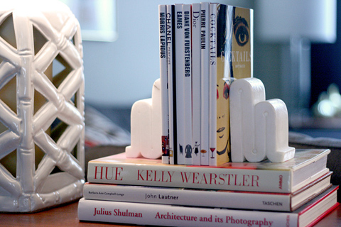 bookends for design books