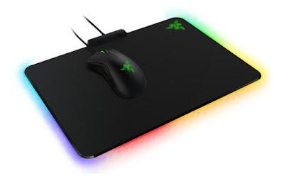 Firefly mousepad iluminado