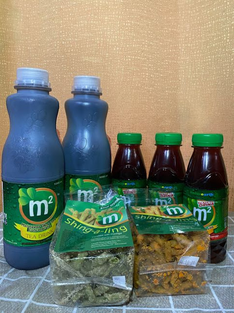 M2 Malunggay Tea Drink and other food products