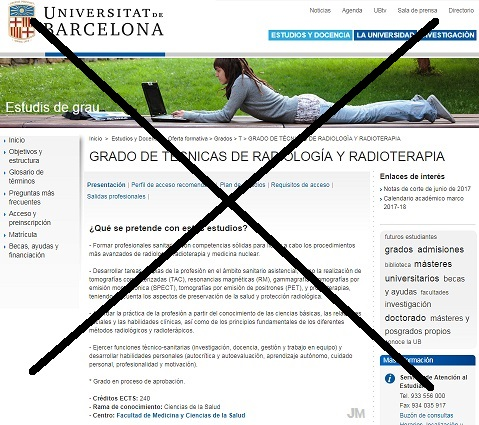 Tecnicos en Imagen Diagnostica: El Grado de Radiología y ...