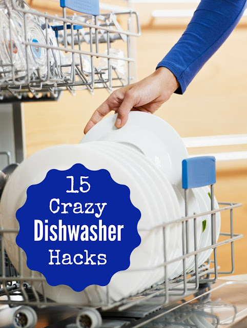 15 Crazy Dishwasher Hacks. You can wash so much more than dishes in a dishwasher. Check out my guide for some nifty tips.