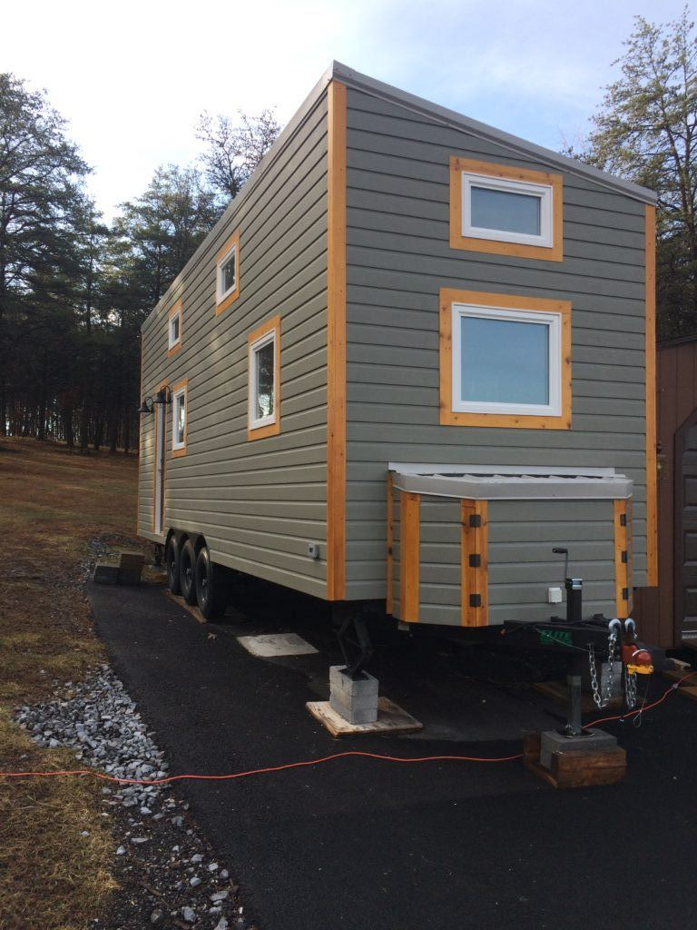 Tiny House Town West Virginia Tiny House 330 Sq Ft