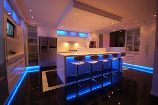 Éclairage ruban led : Intérieur cuisine