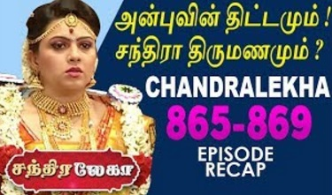 Chandralekha | Sun TV | Week 33 | Recap of Episode 865 to 869