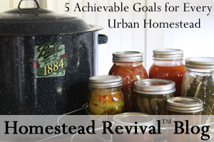 Homestead Revival: 5 Achievable Goals for Every Urban Homestead