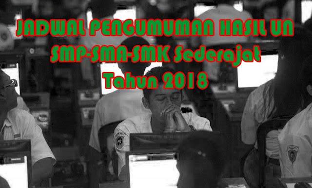 siswi yang baru saja selesai melaksanakan UNBK Rilis Jadwal Resmi Pengumuman Kelululusan Hasil UNBK 2019