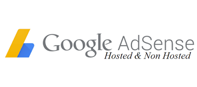 Difference between Google Adsense Hosted and Non Hosted