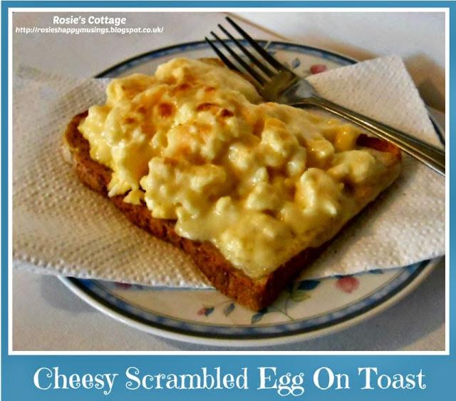 Rosie's Cheesy Scrambled Egg On Toast