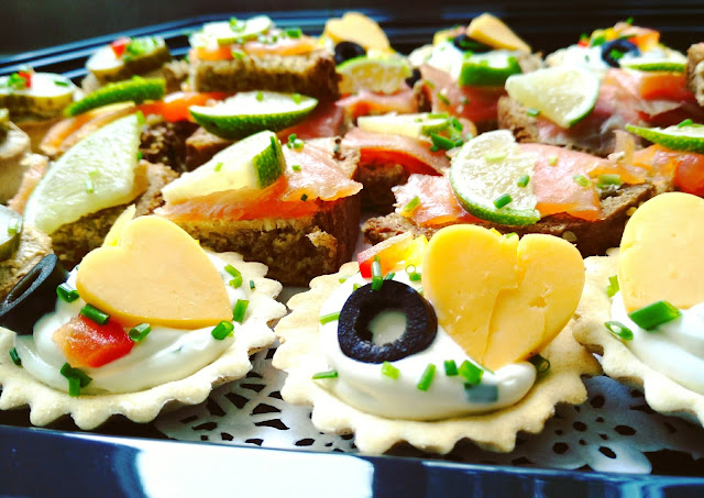 party food, catering, canapes, Galway gateaux