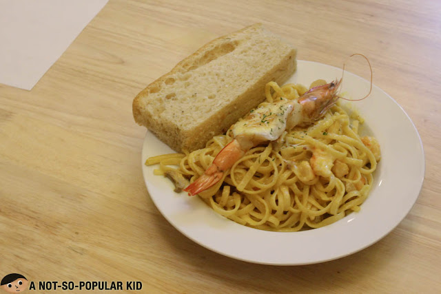 Shrimp Thermidor Pasta of Nikko's Baking Studio