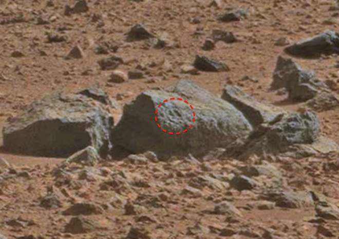 UFO SIGHTINGS DAILY: Updated: Circle With Cross On Mars ...