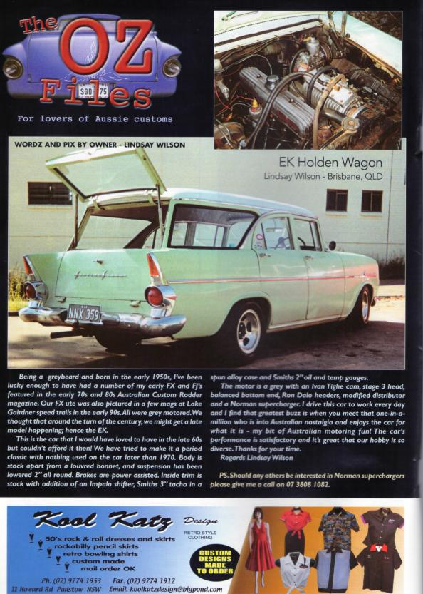Norman Blown EK Wagon ~ Holden Grey Motor