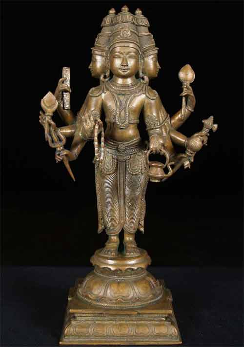 Important Aspects in Crafting Idol of Brahma