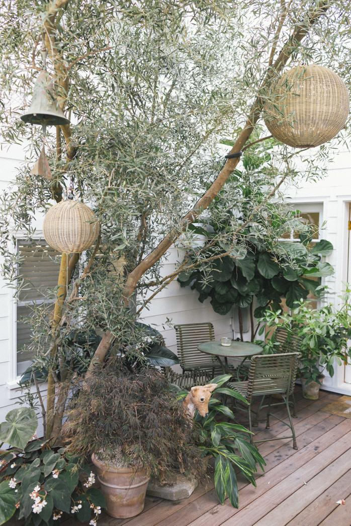Green Outdoor Oasis- design addict mom