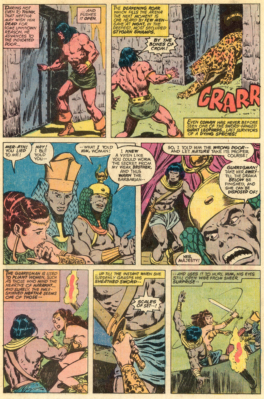 Conan the Barbarian (1970) Issue #77 #89 - English 13