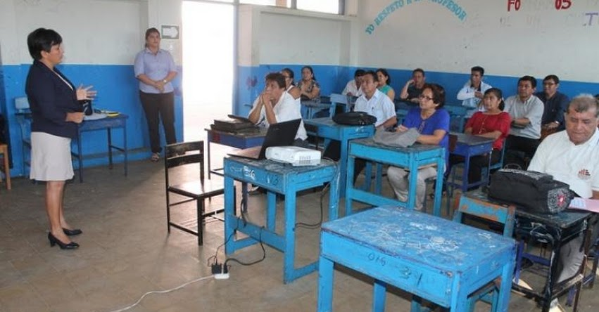 UGEL Lamas capacita a cerca de 900 docentes - www.dresanmartin.gob.pe