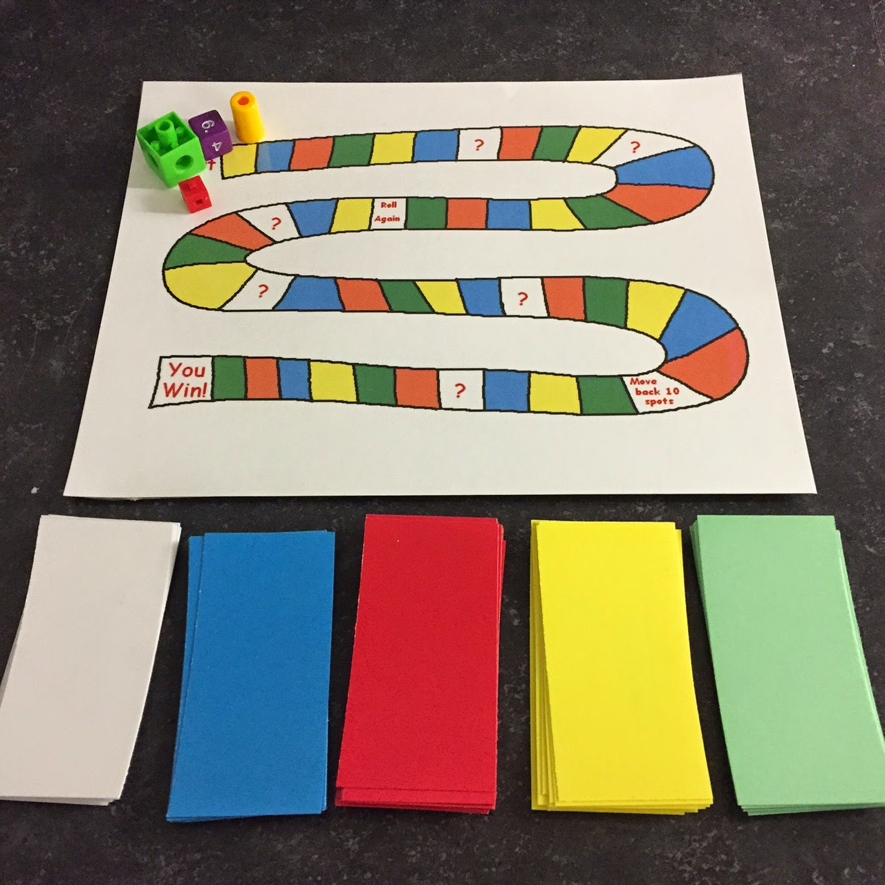 Engaging Math Geometry Board Game
