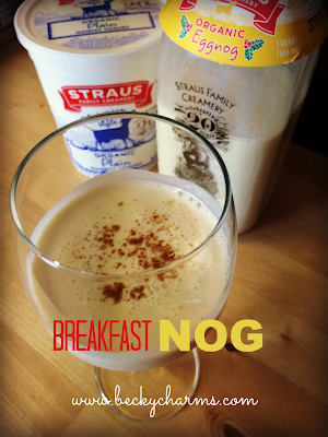 Breakfast Nog by BeckyCharms & Co.