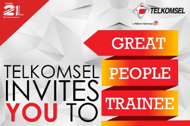 Lowongan Kerja Telkomsel GREAT People Trainee Program Batch VII