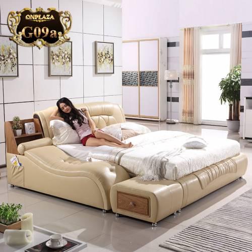 Giường ngủ nhập khẩu cao cấp, hiện đại