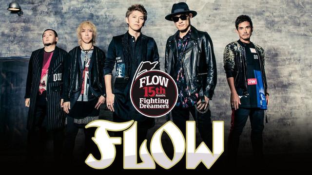 La banda japonesa FLOW llega a Latinoamérica