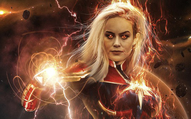 Sức mạnh của Captain Marvel quá lớn so với Chúa tể Vũ trụ Thanos