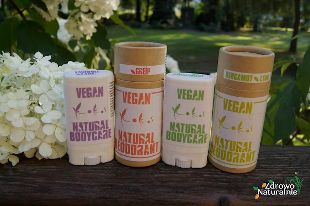 Naturalne dezodoranty marki KoKos