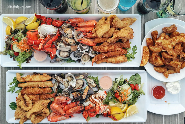 Currumbin Surf Club Seafood Platter