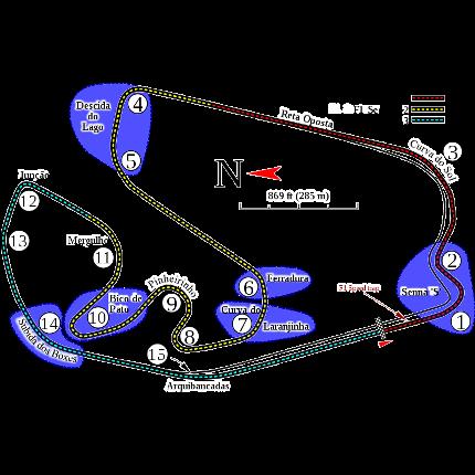 Jadwal dan Hasil Formula 1 Satu One Jose Carlos Pace Brasil 2017 F1